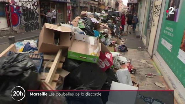 Marseille : les éboueurs en grève sur toute la métropole