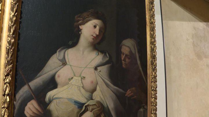 La Circée de Giovanni Domenico est gardée le musée Labenche. (FRANCE 3)