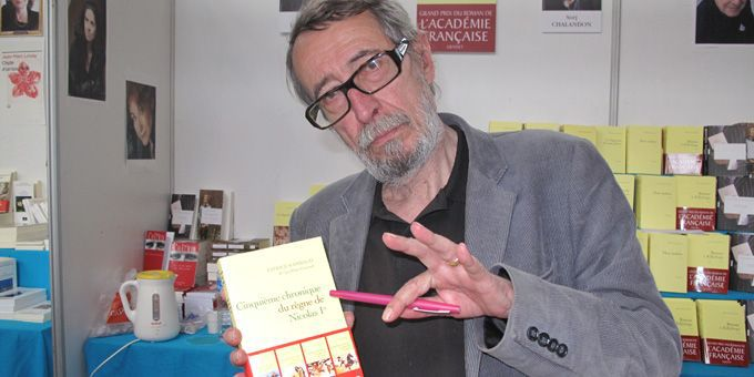 """Patrick Rambaud """"5e chronique du règne de Nicolas 1er""""  (S.Jouve)"""