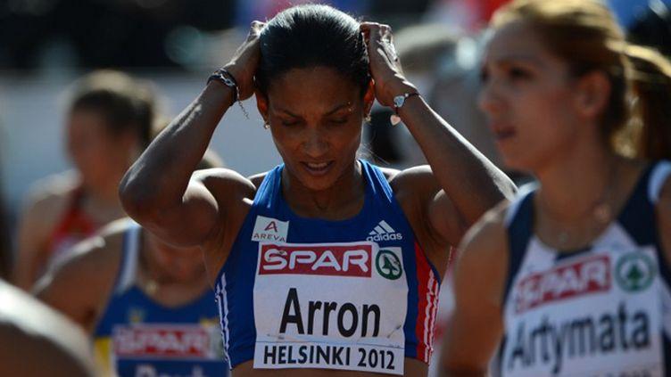 Christine Arron quitte la piste (OLIVIER MORIN / AFP)