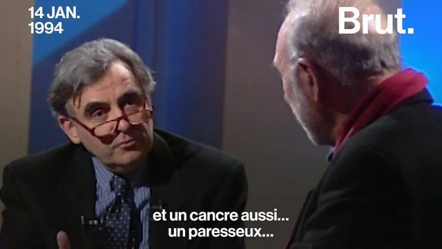 Le comédien Jean-Pierre Marielle nous a quittés le 24 avril. Interrogé par Bernard Pivot en 1994, il se présente comme un homme fainéant et distrait.