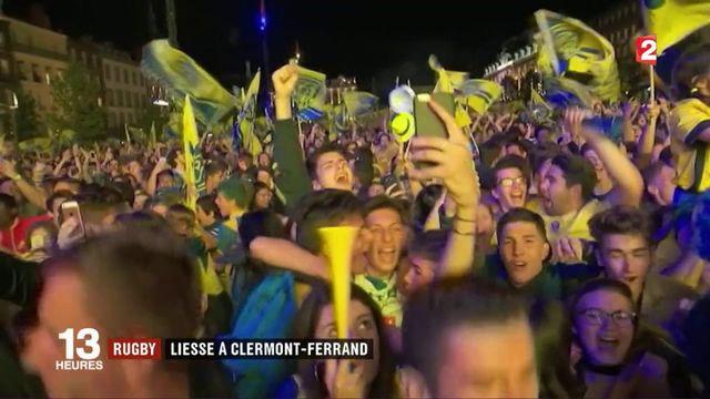 Clermont-Ferrand champion de France : la liesse des supporters