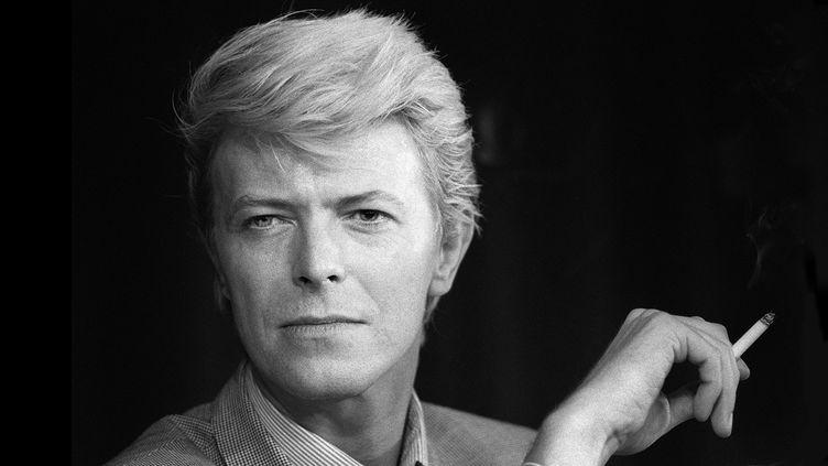 David Bowie le 13 mai 1983.  (Ralph Gatti / AFP)