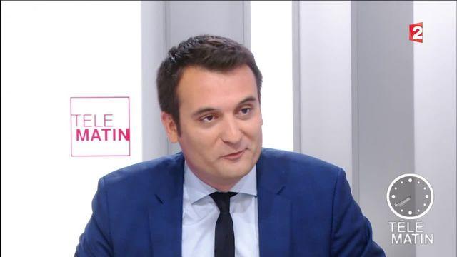 """Les 4 Vérités - Florian Philippot : """"Je suis fasciné de voir Nicolas Sarkozy penser que les Français le croient encore"""""""