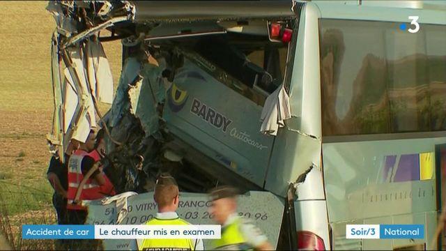Accident de car : le chauffeur du poids lourd mis en examen
