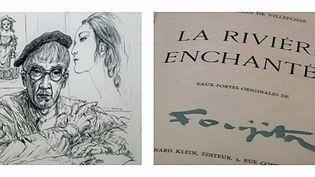 """""""La rivière enchantée"""" illustrée par Foujita acquise par la ville de Reims pour 42 500 €  (Culturebox)"""