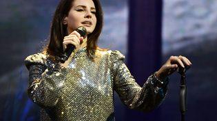 Lana Del Rey en concert à Las Vegas le 18 février 2018. (ETHAN MILLER / GETTY IMAGES NORTH AMERICA)