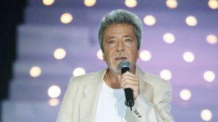 Le chanteur Gérard Palaprat ici en 2001.  ( T.F.1-CHOGNARD/SIPA)
