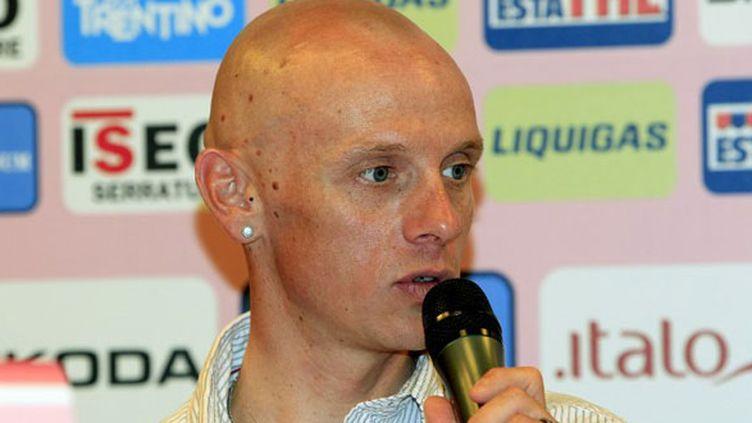 Le coureur français John Gadret