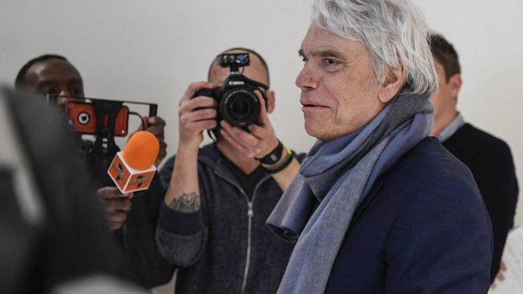 L'homme d'affaires Bernard Tapie lors de son procès, le 4 avril 2019, au tribunal de Paris. (BERTRAND GUAY / AFP)