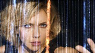 """Une photo de l'actrice Scarlett Johansson,extraite du tournage du film """"Lucy"""", réalisé par Luc Besson. (JESSICAL FORDE / EUROPACORP / TF1 FILMS PRODUCTION - GRIVE PRODUCTIONS)"""