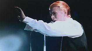 David Bowie, par Philippe Auliac  (France 3 / Culturebox / capture d'écran)