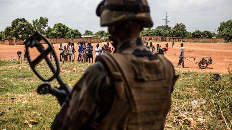 Des soldats de l'opération Sangaris en Centrafrique, le 11 février 2014. (NURPHOTO / AFP)