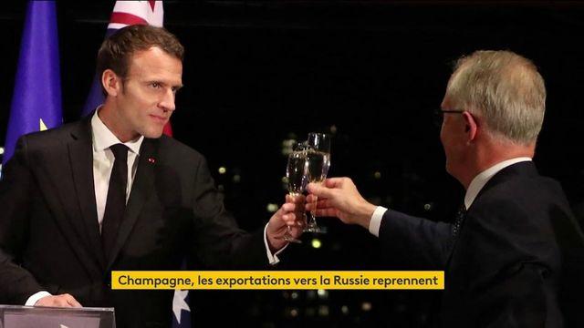 Champagne : reprise des exportations vers la Russie sur fond de tensions avec la France