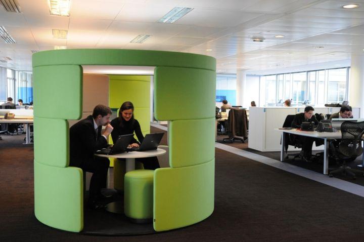 Une bulle de confidentialité, à Accenture. (Accenture)