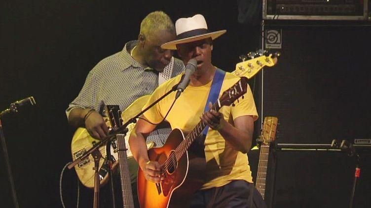 Eric Bibb à Jazz in Marciac 2018  (France 3 / Culturebox)