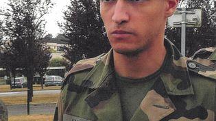 La victime, Jallal Hami, en uniforme militaire sur une photo non datée. (AFP)