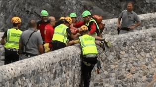 Une crue soudaine et meurtrière a eu lieu en Calabre (Italie) (France 3)