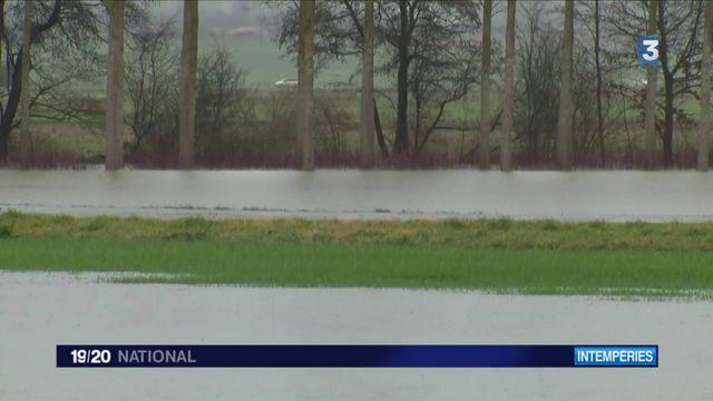 Inondations dans l'Yonne : un agriculteur inquiet pour ses récoltes