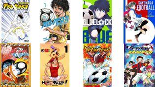 De nombreux mangas se déroulent dans l'univers du football. (ILLUSTRATION)