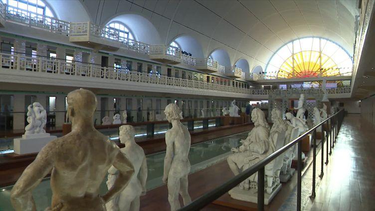 A Roubaix, le musée La Piscine se prépare à recevoir du public dès ce 19 mai.  (J. Vasco / France Télévisions)