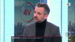Florian Bachelier, député LREM et premier questeur de l'Assemblée nationale. (France 2)