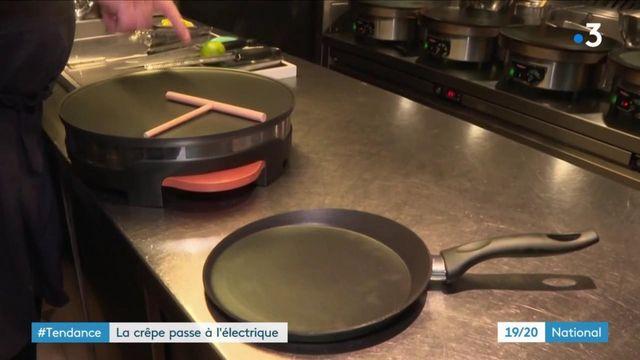 Chandeleur : faut-il choisir la traditionnelle poêle à crêpe ou une crêpière électrique ?