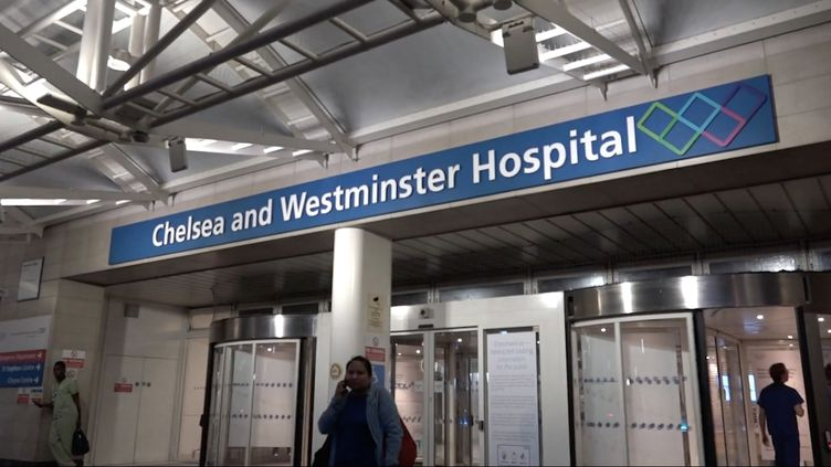 L'hôpital Chelsea and Westminster, à Londres. (FRANCEINFO)