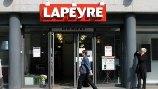 Un magasin du groupe Lapeyre à Paris le 28 mars 2011 (illustration) (FABRISSA DELAVILLE / MAXPPP)