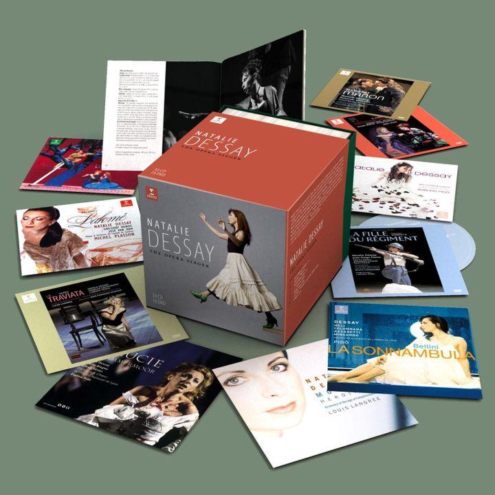 """Natalie Dessay, the opera singer"", l'intégrale à l'opéra en 33 CD et 19 DVD. (ERATO/WARNER CLASSICS)"