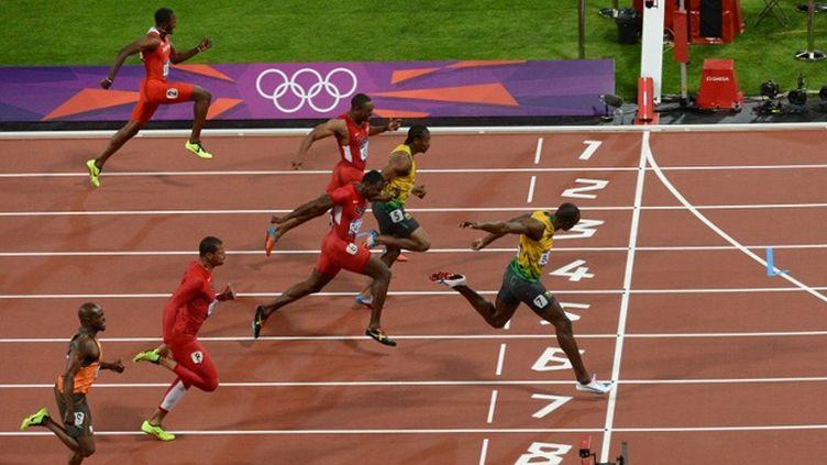 Usain Bolt domine la finale du 100 m