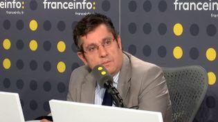 Le secrétaire général du parti socialiste espagnol en France,José Rojas-Alonso, le 28 octobre 2017. (FRANCEINFO)