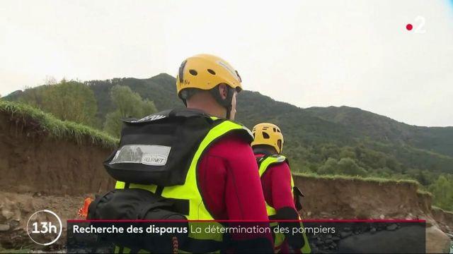 Tempête Alex : la détermination des pompiers à la recherche des disparus