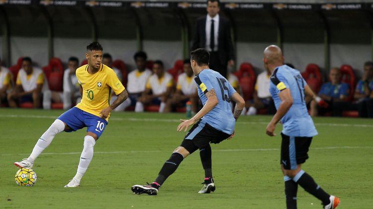 Neymar a été intenable en première période. (DIEGO HERCULANO / BRAZIL PHOTO PRESS)