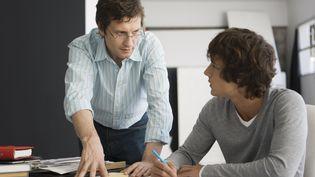 En France, l'apprentissage s'est développé fortement dans l'enseignement supérieur, là où il a le moins d'effet sur l'emploi. (ALIX MINDE / MAXPPP)