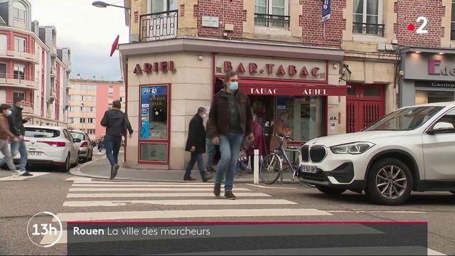 Rouen : avec un centre-ville piétonnisé, elle est une des villes où il est agréable de marcher