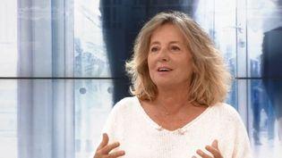"""Auteure de""""S'il te plaît, aide-moi à vivre"""",la psychologue et psychothérapeute Jeanne Siaud-Facchin. (CAPTURE D'ÉCRAN FRANCE 3)"""