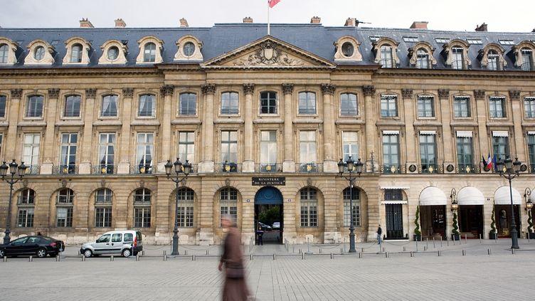 Le ministère de la Justice, à Paris, le 25 mars 2010. (LOIC VENANCE / AFP)