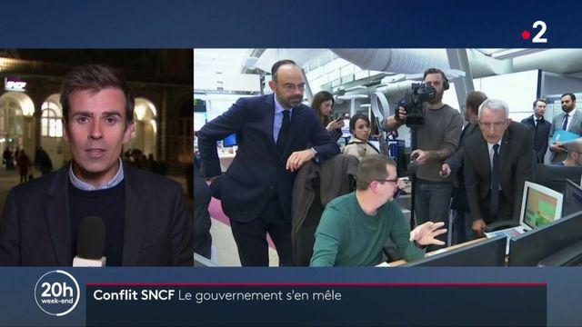 """Grève SNCF : un """"détournement du droit de retrait"""" pour Édouard Philippe"""