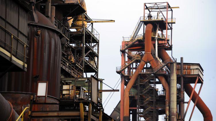Le site ArcelorMitatl, de Florange (Moselle), le 6 décembre 2012. (JEAN-CHRISTOPHE VERHAEGEN / AFP)