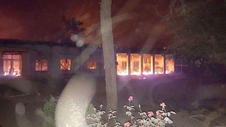 (L'hôpital MSF de Kunduz a été ravagé par une frappe américaine © SIPA/ MSF)