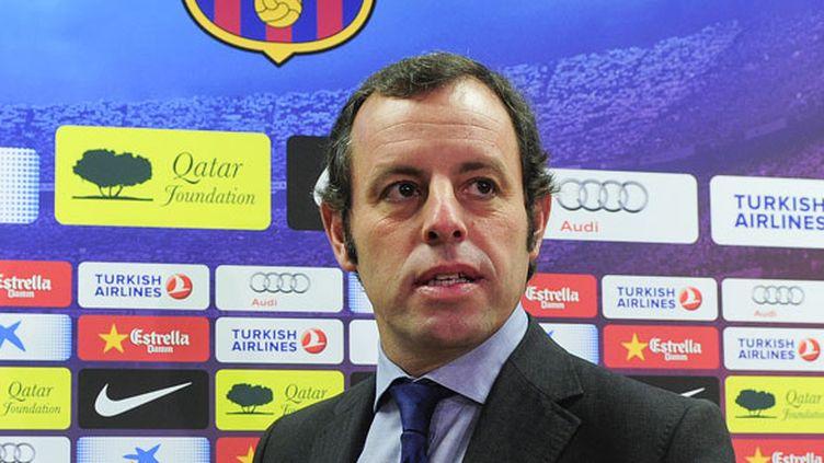 Sandro Rosell, le président du FC Barcelone