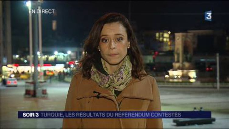 Leïla Sahli, correspondante de France 3 en Turquie. (FRANCE 3)
