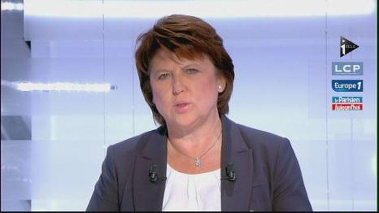 Martine Aubry (I Télé)