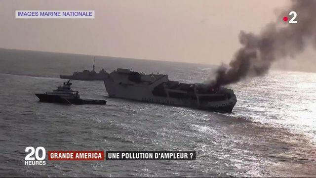 "Naufrage du ""Grande America"" : une pollution d'ampleur ?"