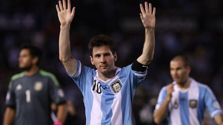 Lionel Messi, le numéro 10 argentin