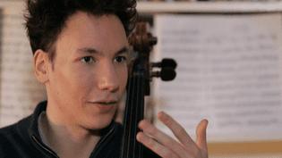 Edgar Moreau, une bouille d'adolescent qui cache un musicien hors-pair.  (France 2 Culturebox)
