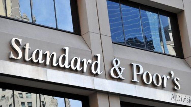L'agence de notation américaine Standard and Poor's à New York (AFP/STAN HONDA)