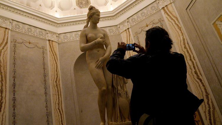 Ce que le président iranien n'a pas vu au Musée du Capitole  (Filippo Monteforte)