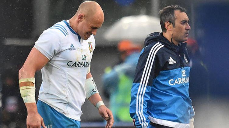 Le joueur italien Sergio Parisse